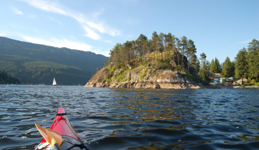 British Columbia kayak locations